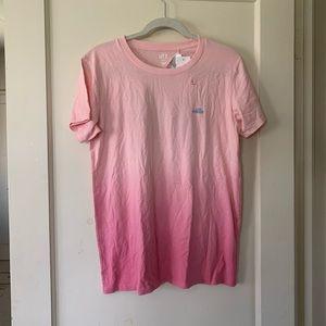 Uniqlo Hawaii ombre shirt